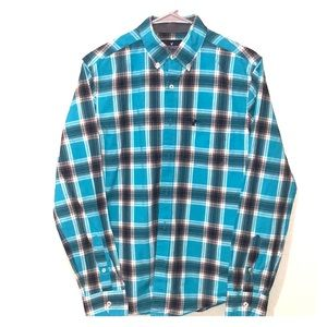 Men's American Eagles button down shirt